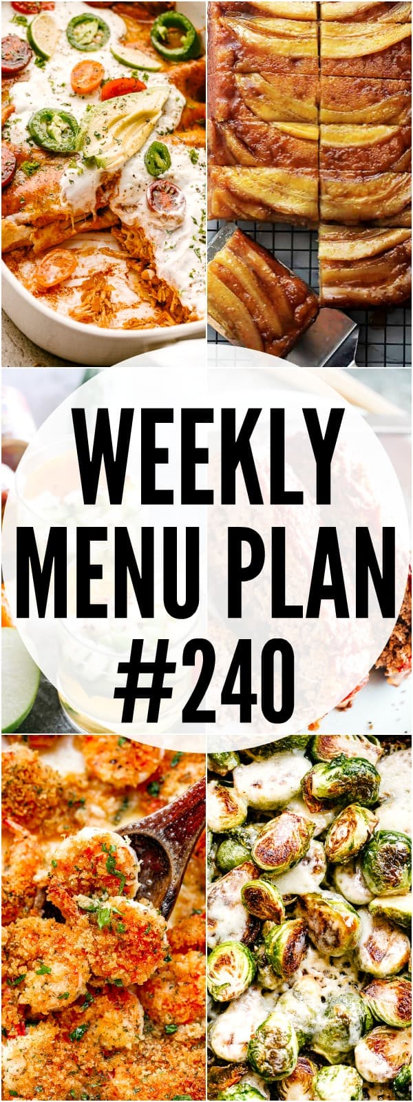 WEEKLY MENU PLAN 240 MAIN IMAGE