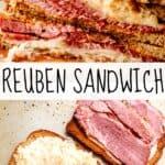 REUBEN SANDWICH PIN IMAGE