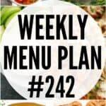 WEEKLY MENU PLAN (#242)