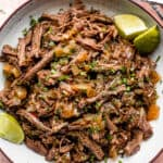 Slow Cooker Beef Barbacoa | Chipotle Copycat!