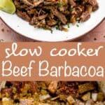 slow cooker beef barbacoa pinterest image