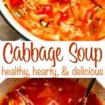 Cabbage Soup pinterest image