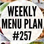 WEEKLY MENU PLAN 257 PINTEREST IMAGE