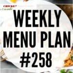 WEEKLY MENU PLAN (#258)