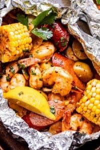 shrimp boil in foil