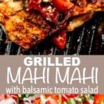 Grilled Mahi Mahi pin image