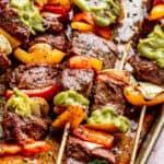 Juicy Steak Kabobs