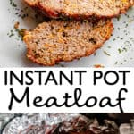 Instant Pot Meatloaf pinterest image