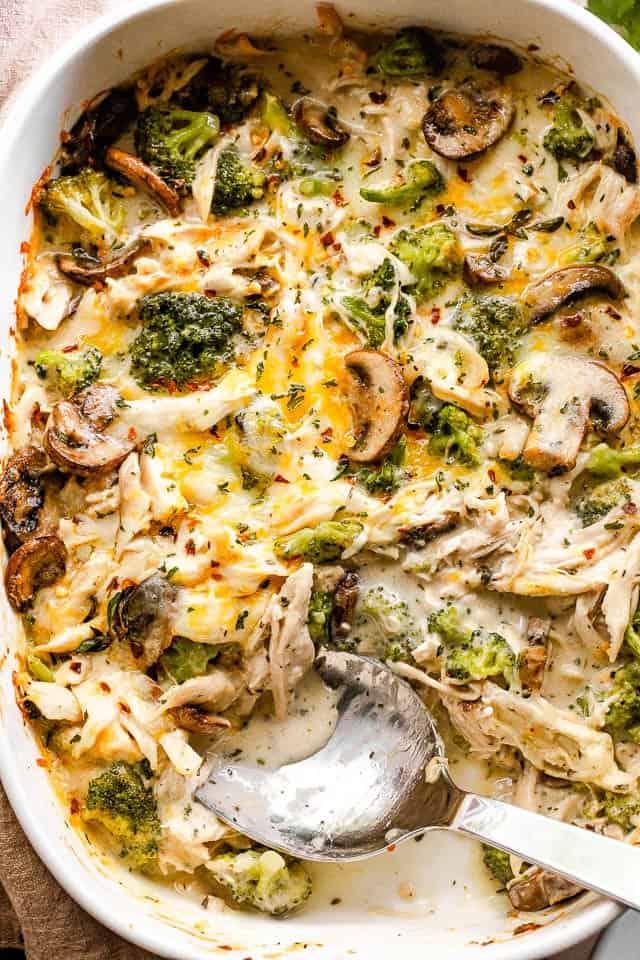 Easy Chicken Broccoli Casserole Chicken Divan Diethood