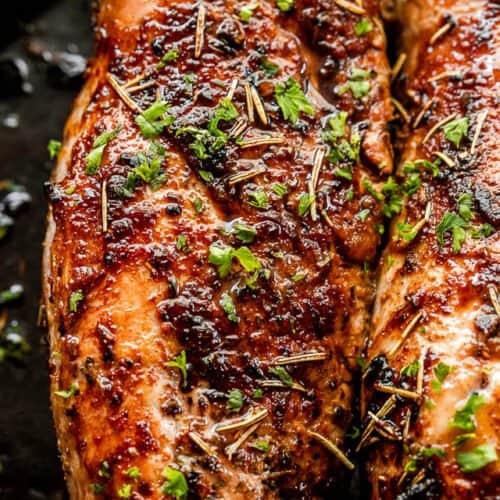WW Garlic Pork Tenderloin