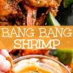 Bang Bang Shrimp long pinterest image