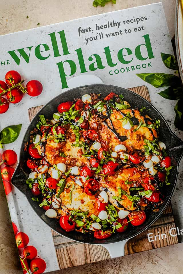 picture of the well plated cookbook