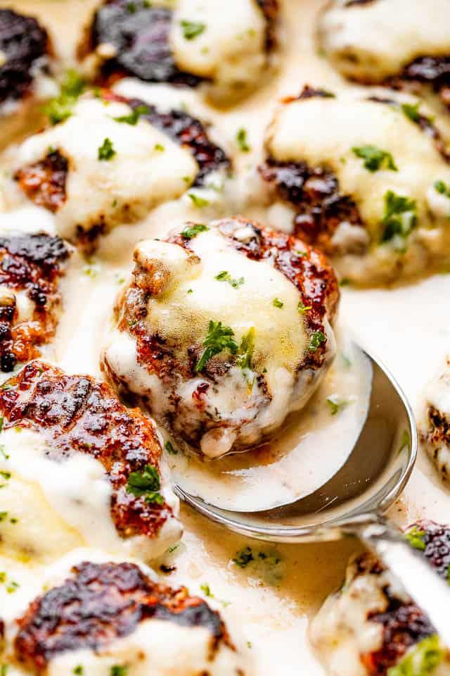 Swedish meatballs in sauce