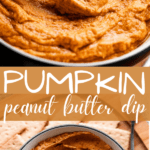 Pumpkin Peanut Butter Dip Pinterest Image