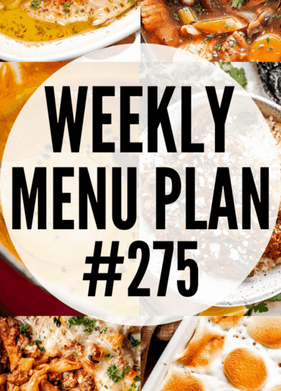 WEEKLY MENU PLAN (#275) PINTEREST IMAGE