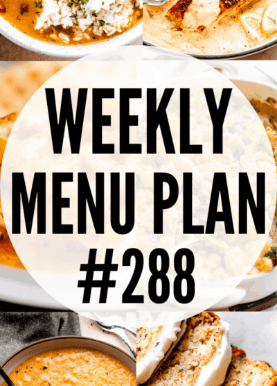 WEEKLY MENU PLAN 288 collage PIN