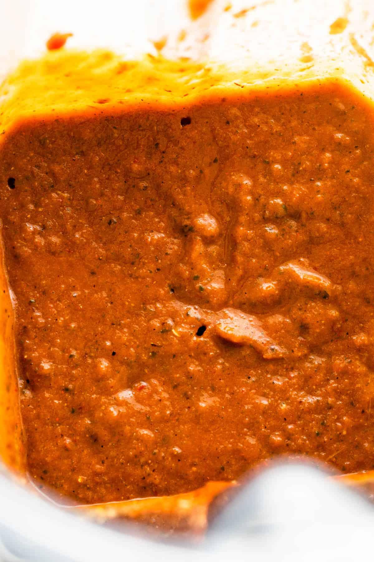 blended sofritas sauce