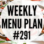 WEEKLY MENU PLAN 291 collage pin