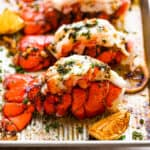 Buttery Baked Lobster Tails