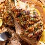 Juicy Slow Roasted Lamb Shoulder