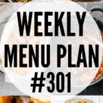 WEEKLY MENU PLAN (#301)