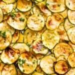 Air Fryer Zucchini Crisps