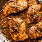 Smothered Chicken and Gravy | Low Carb and Keto-Friendly