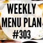 WEEKLY MENU PLAN (#303)
