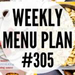 WEEKLY MENU PLAN (#305)