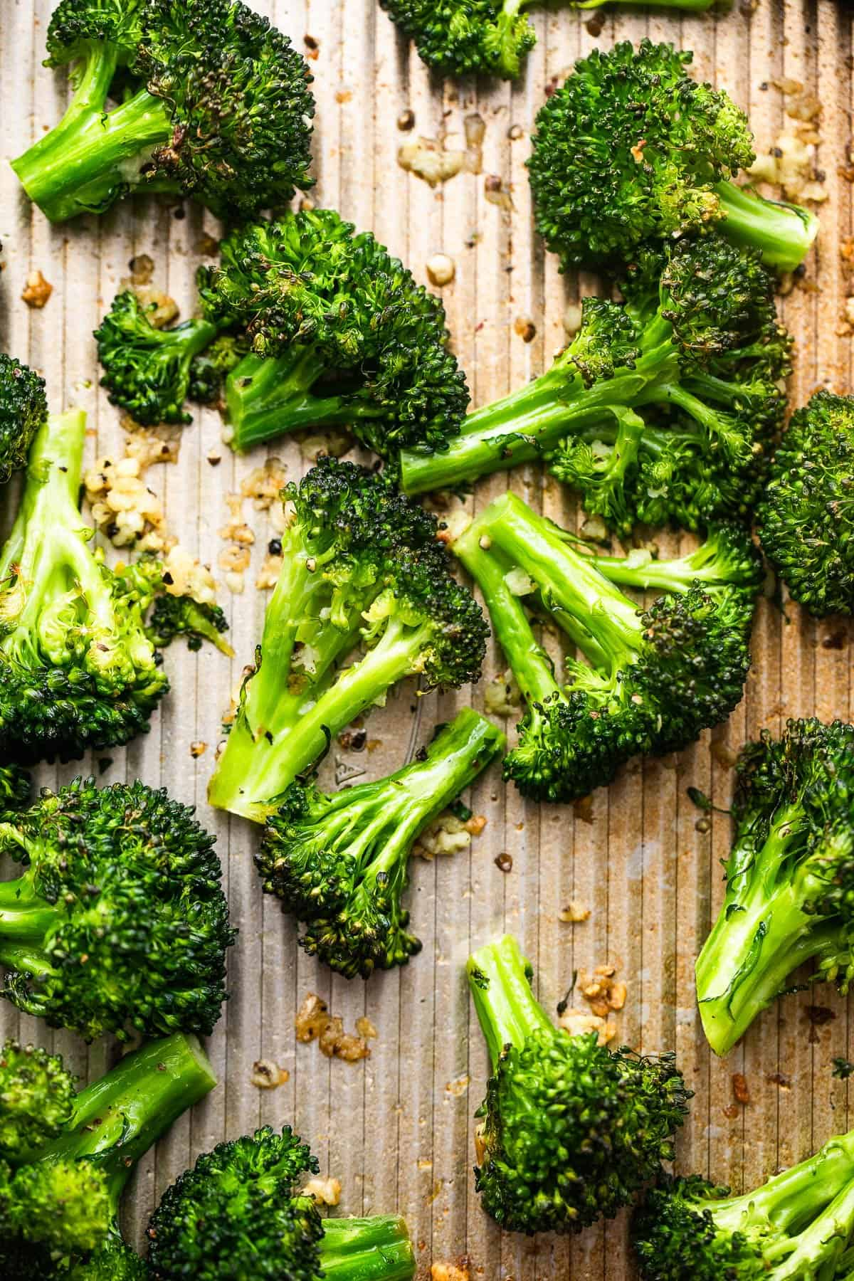 air fryer roasted broccoli