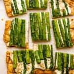 Asparagus Mozzarella Cheese Tart